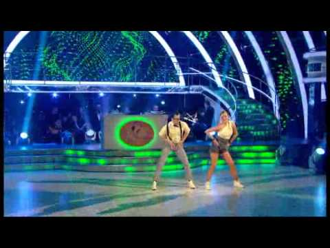Holly Valance and Artem Chigvintsev dancing the Charleston