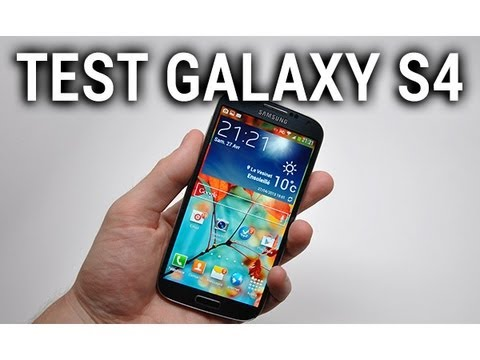 Test du Samsung Galaxy S4 - par Test-Mobile.fr