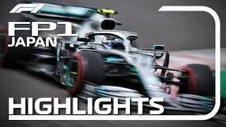 2019 Japanese Grand Prix: FP1 Highlights