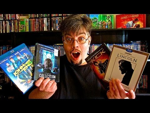 My Blu-Ray Collection Update 4/8/13 Blu ray and Dvd Movie Reviews