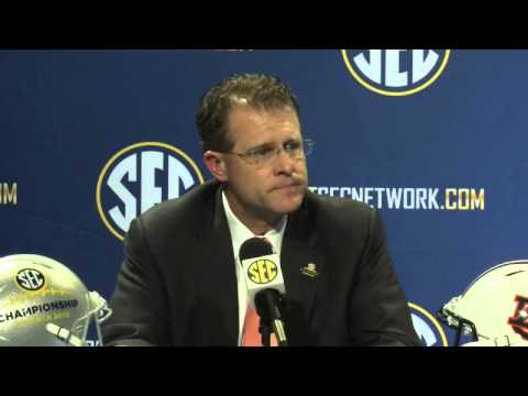 2013 SEC Football Championship Pre-Game Press Conference - Auburn's Gus Malzahn