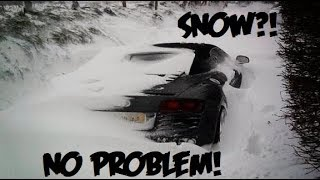 AUDI QUATTRO vs SNOW