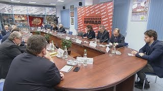 Владимир Путин в редакции «Комсомольской правды»