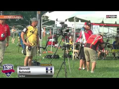 2014 U.S. Open: Eric Bennett Faces Off With Kelly Schmidt!