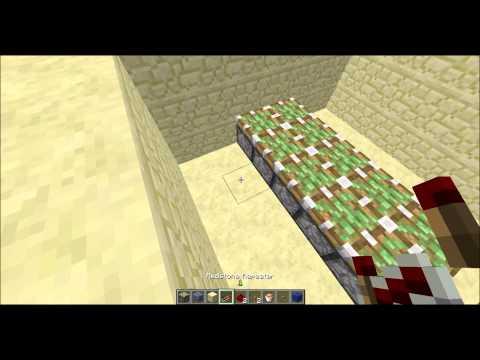 Minecraft Padací most 6x6