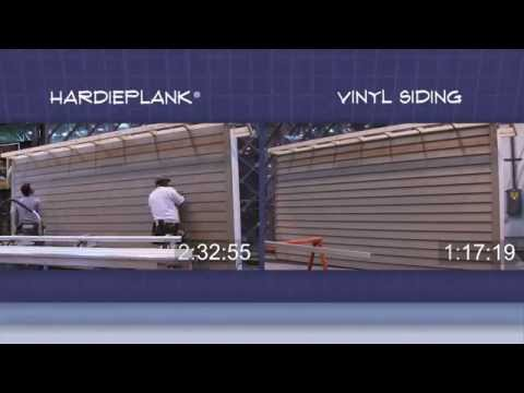 Hardieplank vs vinyl siding risk vs reward how to for Smartside vs hardie