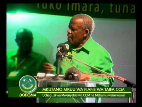 Mzee Yusuf Makamba Katika Mkutano Mkuu Wa Ccm Kizota video