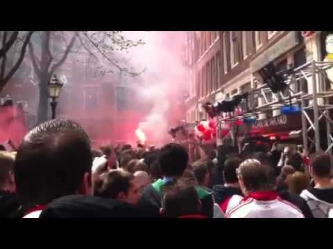 Ajax kampioen leidseplein