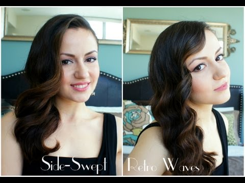 Side-Swept Retro Waves