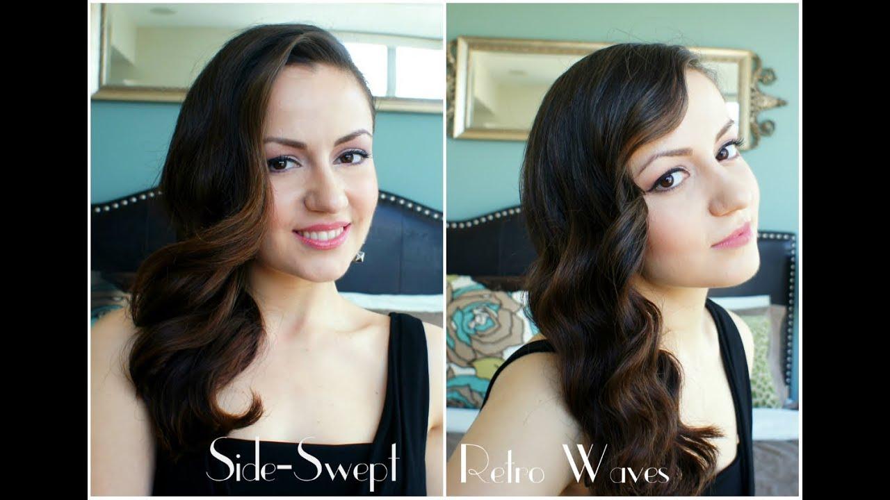 Side Swept Retro Waves Youtube
