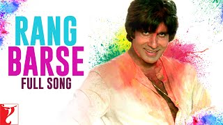Rang Barse - Full Song (Holi Song)   Silsila   Amitabh Bachchan   Rekha   Sanjeev Kumar