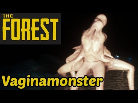 Let's Play The Forest Deutsch German Gameplay - Vaginamonster