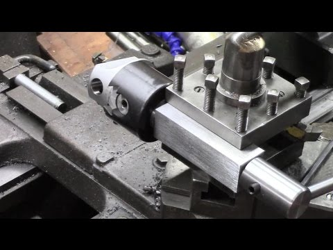 Radius Ball Turner MKll - Boring Head/Tool Post Version, Part Two