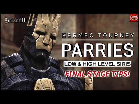 Infinity Blade 3: PARRY TIPS FOR KERMEC TOURNEY FINAL STAGE!