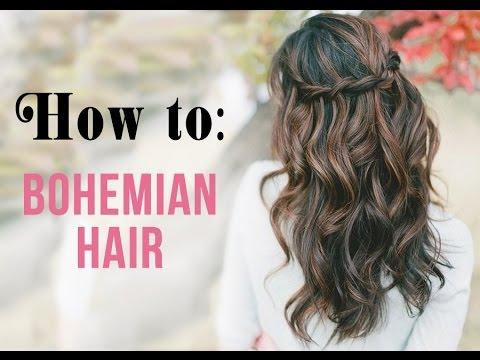 Easy Braided Bohemian Hair Tutorial | Summer Survivor Series