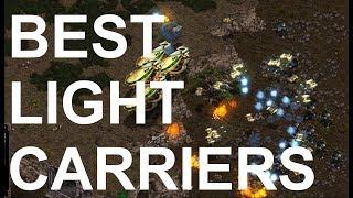 Best (P) v Light (T) on Fighting Spirit - SC - Brood War REMASTERED
