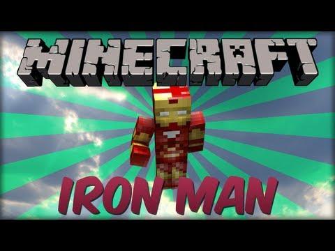 Minecraft Mods 1.6.1 - IRON MAN - Armadura sinistra... XD
