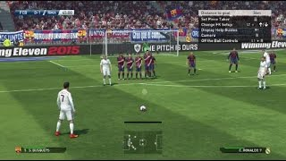 PES 2015 Demo PS4 Gameplay - FC Barcelona Vs Real Madrid