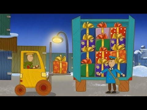 Машинки, новый мультсериал для мальчиков - Погрузчик (серия 36) и сборник серий!