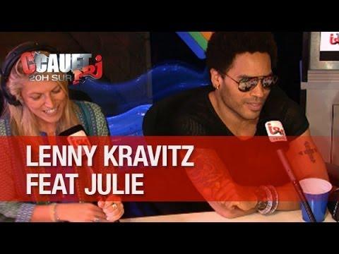 Lenny Kravitz invite Julie à faire sa première partie de Bercy - C'Cauet sur NRJ