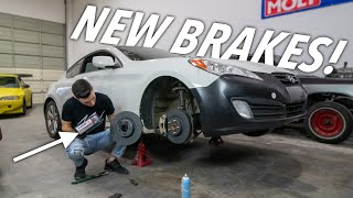 Upgrading Brakes on the Genesis!
