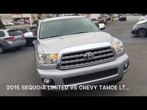 2015 Toyota Sequoia 4wd vs 2015 Chevy Tahoe 4wd-Gary Force Toyota of Bowling Green-Kinny Landrum