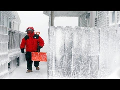 Impresionantes imágenes de la tormenta invernal en las redes sociales -- Exclusivo Online
