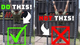 US Marine - 5 Tips for Easier Pull Ups