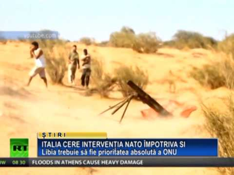 Italia cere interventia NATO impotriva SI