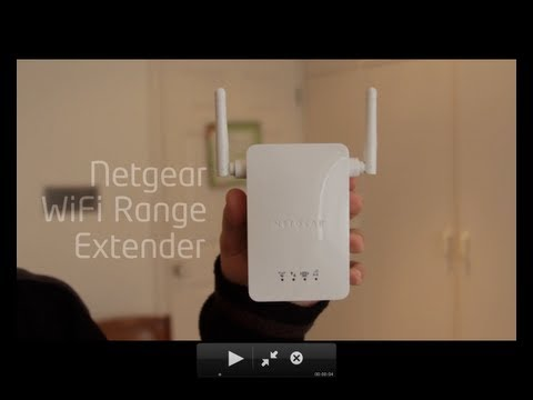 Netgear Universal Wireless Range Extender Review
