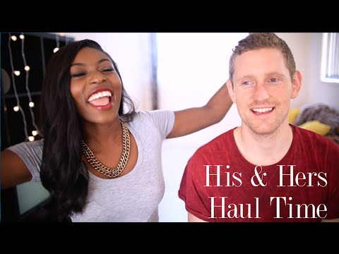 HUGE HIS AND HERS HAUL| TOPSHOP, ZARA, ASOS, MONKI, MENSWEAR & MORE