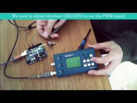 Original DSO068 DIY Oscilloscope Kit With Digital
