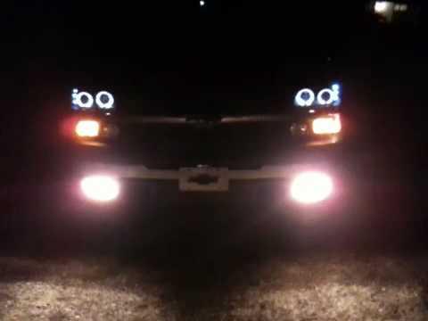 Halo Fog Lights Chevy Silverado Silverado Halo Head Lights