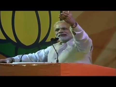 PM Modi addresses BJP Karyakartas at a public meeting in Bengaluru