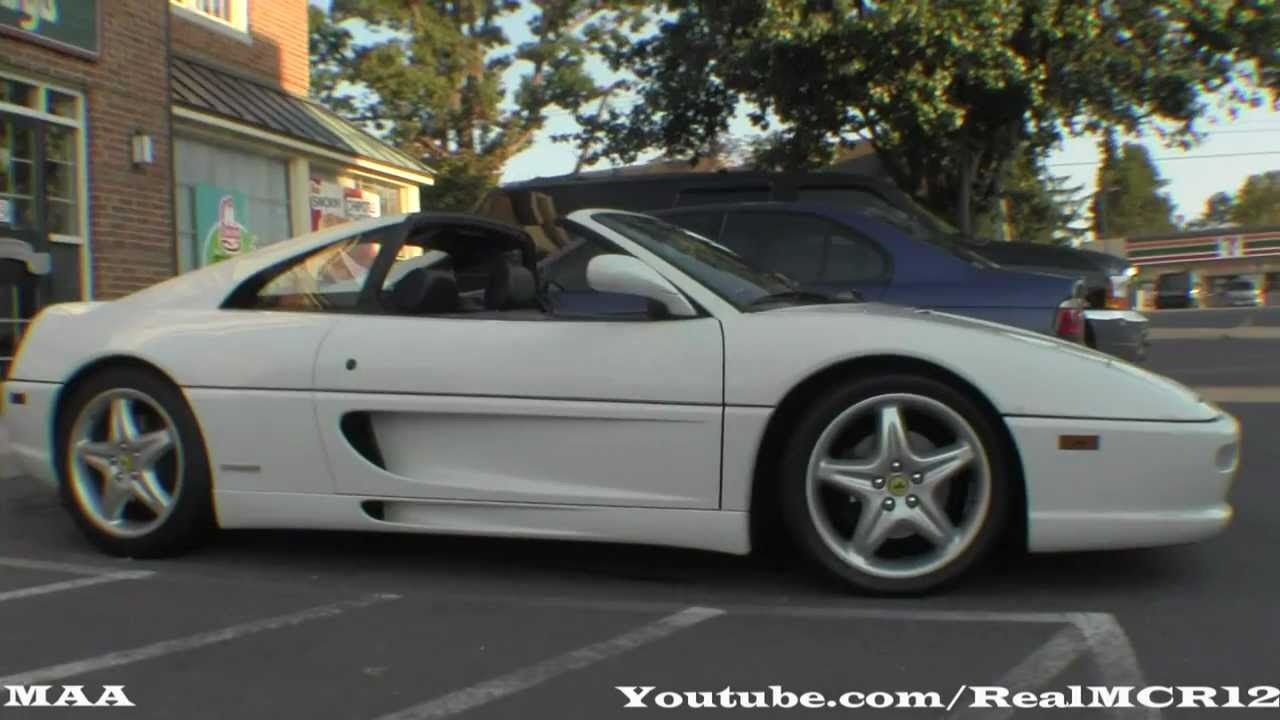 Rare White Ferrari F355 Gts Youtube