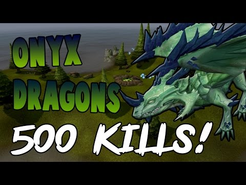 Runescape 2017 | Loot From 500 Onyx Dragons! CRAZY XP!