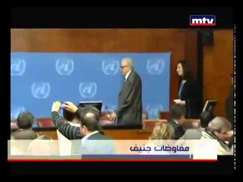Syrian Opposition Sketches Peace Plan in Geneva Talks - MTV Lebanon News – Jean Nakhoul – 28-01-2014
