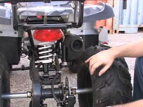 COOLSTER 125CC KIDS ATV UTILITY QUAD