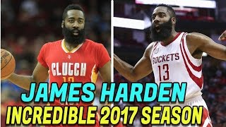 7 Facts About James Harden's Incredible 2017 NBA Season! NBA Records Harden Broke! 2017 NBA MVP?