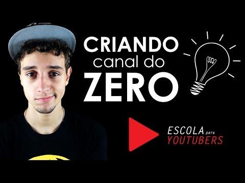 Criando um canal do zero - Primeiros passos | Escola para youtubers thumbnail