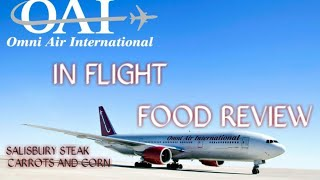 Omni Air International | In Flight Food Review