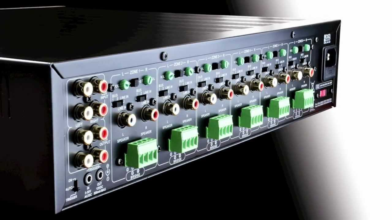 Osd Audio Mx1260 Multi Channel Amplifier Youtube