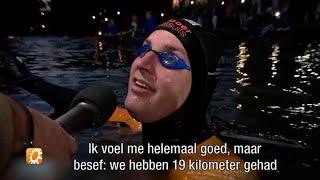 Maarten van der Weijden gaat hard op dag 2 Elfstedentocht - RTL BOULEVARD