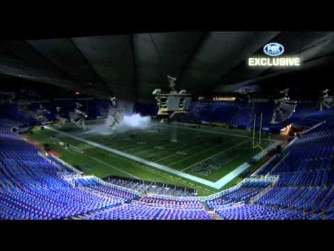 Minnesota Vikings Metrodome Roof Collapse Hq Youtube