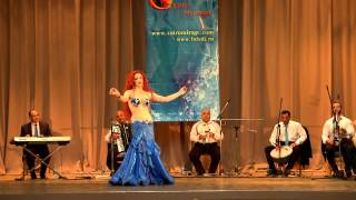 Оксана Базаева الراقصة اوكسانا Oxana Bazaeva  International bellydance festival CAIRO MIRAGE 2014