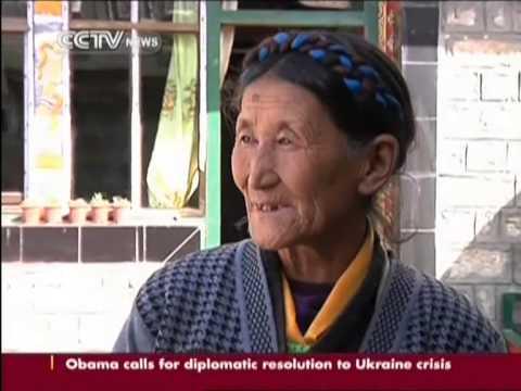 Building up Tibet