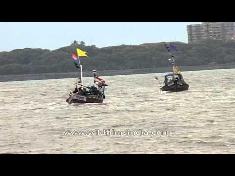 Boat ride in Arabian Sea