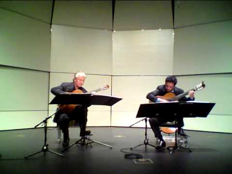 Odeum Guitar Duo - Domenico Scarlatti - Sonata K. 87 - in Concert on April 16, 2012