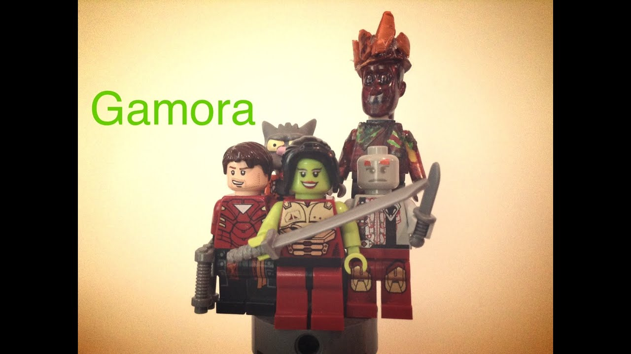 Lego Marvel Gamora Lego Marvel Guardians of The