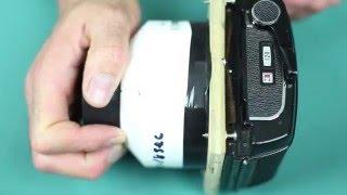 Pinhole Camera with Medium Format Film Back